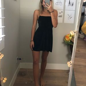 Black mini dress urban outfitters